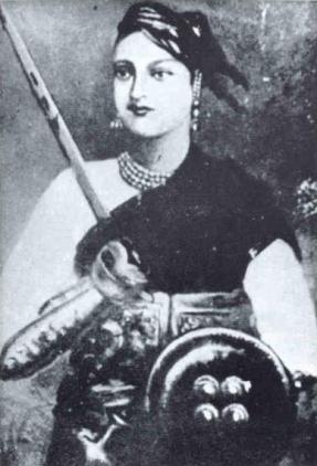 Rani Laxmibai. Credit: Wikimedia Commons
