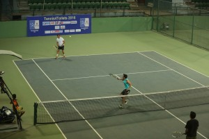 The Tennis4Toilets tournament was organised by the Bosnian, Chilean, Guatemalan and Serbian ambassadors to India. Credit: Sulabh International