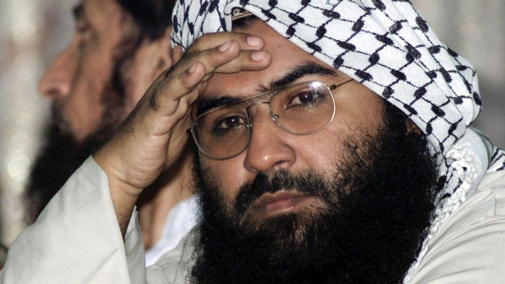 Maulana Masood Azhar, head of militant party Jaish-e-Mohammad and mastermind of the January Pathankot base attack. Credit: Reuters