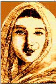 Azizun bai. Credit: Wikimedia Commons