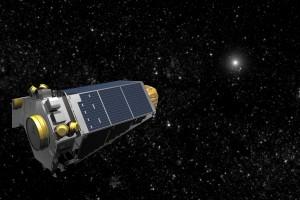 NASA's Kepler spacecraft, imaged by an artist. Credit: NASA