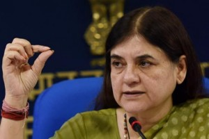 Union Women and Child Development Minister Maneka Gandhi. Credit: PTI.