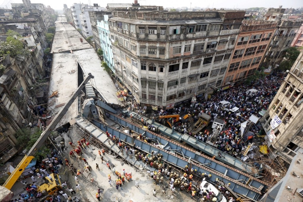How the Public Tragedy of the Kolkata Flyover Collapse Was Buried