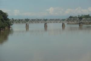 Burhi Dihing Railway Bridge. Credit: Wikimedia Commons.
