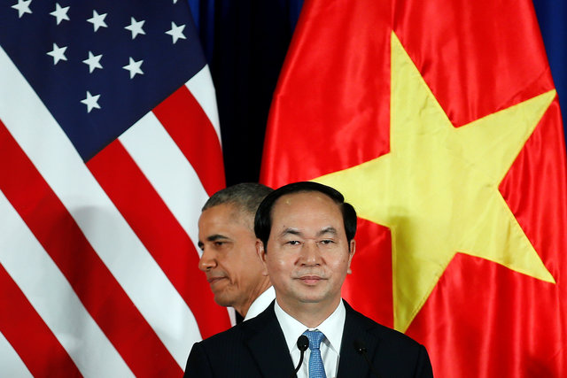 US Lifts Arms Embargo on Vietnam