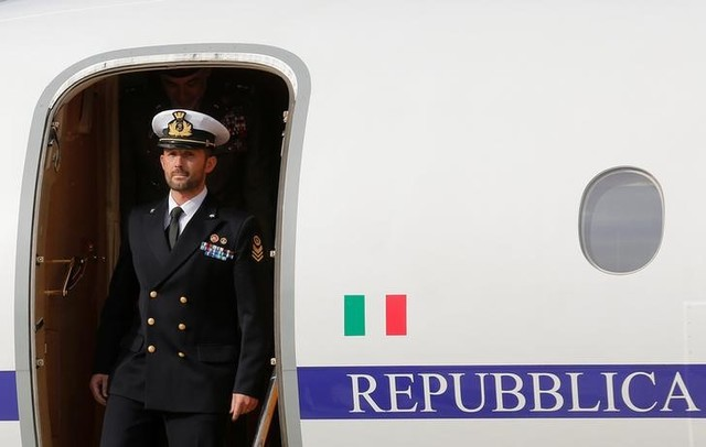 Marine Salvatore Girone Arrives in Italy After Four Years in Custody in India