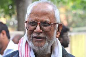 Veteran Assam watcher M.S. Prabhakara. Credit: Hari Prasad Nadiq/Flickr CC BY-SA 2.0