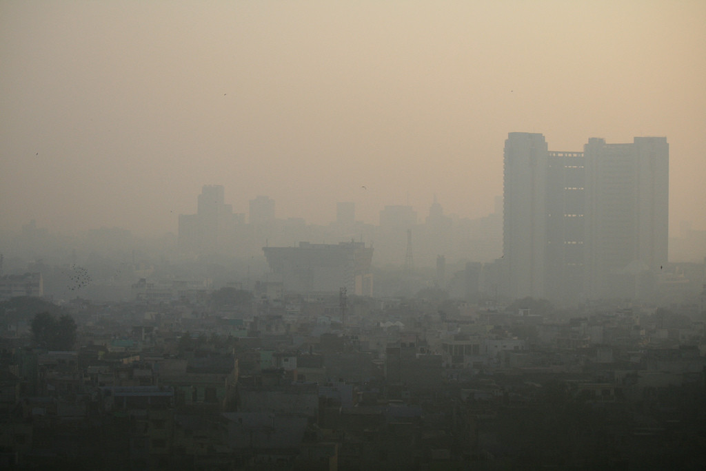 "Air Pollution in India Now A ""National Crisis"""