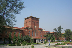 A Delhi University building. Credit: Wikimedia Commons