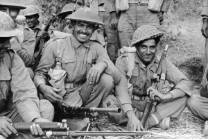 Indian Troops during Second World War. Representational Image. Credit: Wikipedia