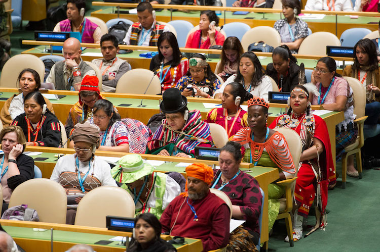 indigenous peoples insist on equality of all rights at un conference