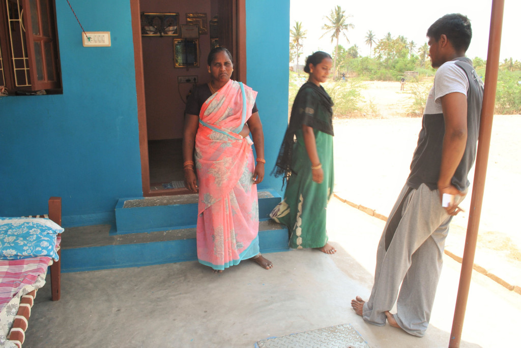Krishnaveni, Ilavarasan's mother, refuses to believe her son committed suicide and alleges murder. Credit: Rohini Mohan