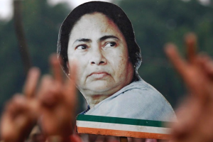 Mamata Banerjee's TMC won with a large margin in the West Bengal assembly polls. Credit: Reuters