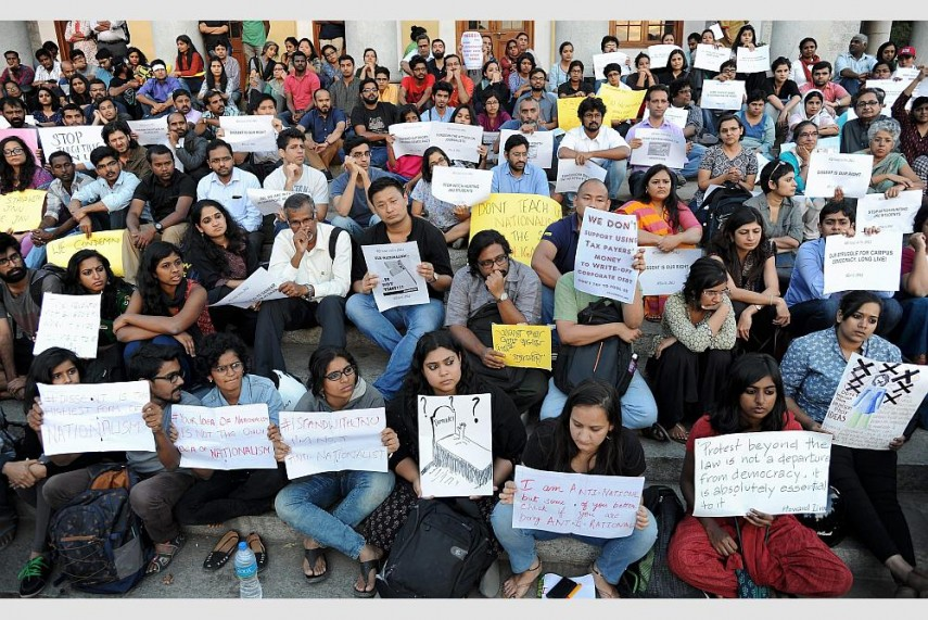 As Indian Universities Go Neoliberal, Protests by Students Offer a Ray of Hope