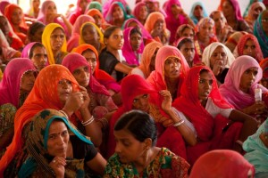 File photo of women attending a gram sabha meeting in Dungarpur district, Rajasthan. Credit: UN Women Asia and the Pacific/Flickr CC BY-NC-ND 2.0