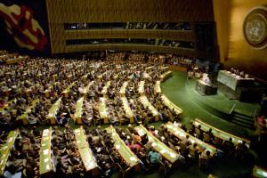 A representational image of a UN General Assembly. Credit: Yuryi Abramochkin/CC-BY-SA 3.0