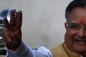 Chhattisgarh Chief Minister Raman Singh's government has been accused of making a 'shady deal' with AgustaWestland. Credit: PTI