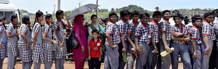 Aadhaar in Andhra: Chandrababu Naidu, Microsoft Have a Plan For Curbing School Dropouts