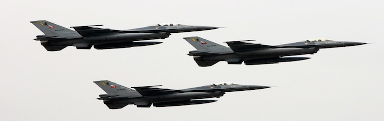 US Goes For Strict Monitoring of Pakistan's F-16s