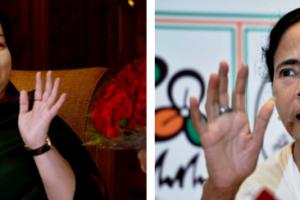 Mamata Banerjee and J. Jayalalitha. Credit: PTI