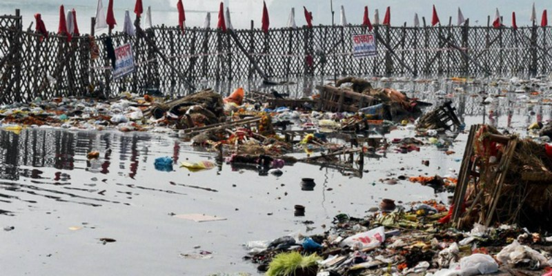 The Art of Living Foundation paid only Rs. 25 lakhs of the fine the National Green Tribunal imposed on it for damaging the Yamuna floodplain. Credit: PTI