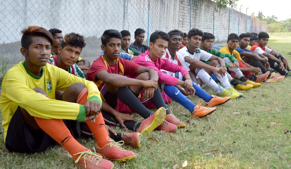 Kicking Stigma Away, a Young Team from Bengal Heads for an International Football Tournament