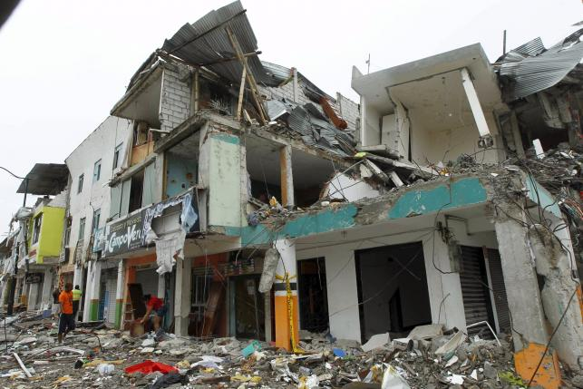 Ecuador Hit by 6.7 Quake; Minor Injuries, Light Damage Reported