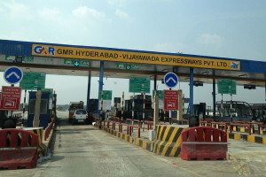 File photo of a toll gate in Hyderabad. Credit: Wikipedia commons
