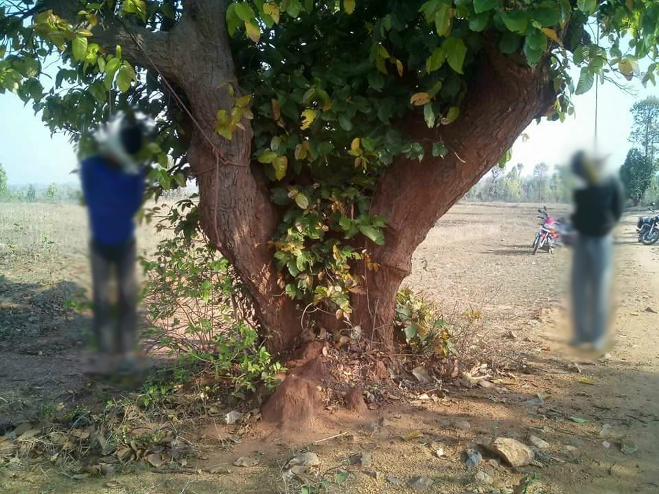 Two cattle traders were beaten and hanged to death in Latehar, Jharkhand on March 18. Credit: Special Arrangement