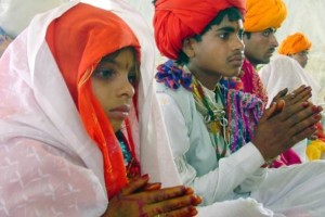 Child marriage in India. Credit: Reuters.