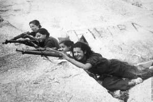 Women fighting in the Spanish Civil War. Credit: Wikipedia