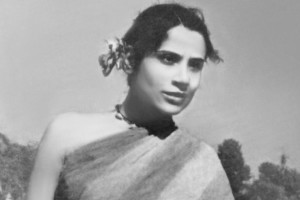 The only professional actor in the film, Tripti Mitra, was a well-known Indian theatre actor. Credit: BBC