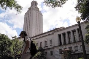A student walks at the University of Texas campus in Austin, Texas, June 23, 2016. Credit: Reuters/Jon Herskovitz