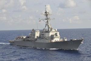 The Arleigh Burke-class guided-missile destroyer USS Gravely (DDG 107) is pictured underway during the multinational UNITAS Atlantic 53-2012 exercise conducted in the western Caribbean Sea in this September 25, 2012 handout photo. Credit: Reuters/ Lt. Cmdr. Corey Barker/U.S. Navy/Handout/Files