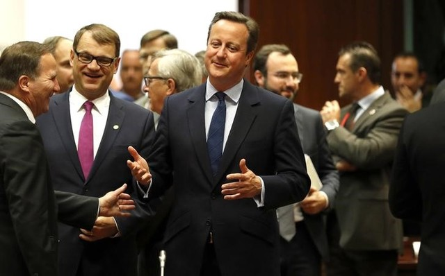 Britain's Prime Minister David Cameron attends during the EU Summit in Brussels, Belgium, June 28. Credit: Reuters/Phil Noble