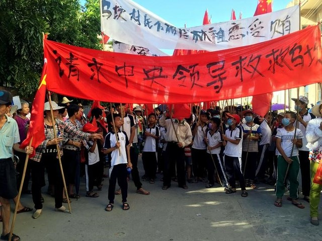 China's One-Time 'Democracy' Village Wukan Stages Protests for Fourth Straight Day