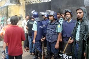 File photo of Bangladesh police. Credit: Reuters