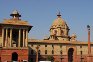 North Block, Raisina Hill, where the home and finance ministries are housed. Credit: Wikimedia