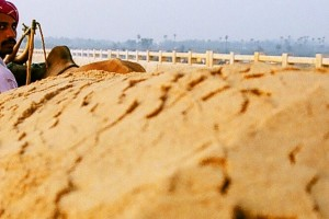 Sand Mining. Credit: Sibi Arasu