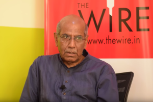 Former foreign secretary Shyam Saran. Credit: The Wire