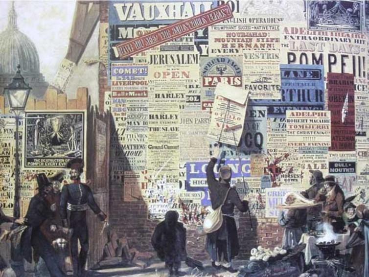 John Orlando Parry, 'A London Street Scene', 1835. Credit: Wikimedia Commons
