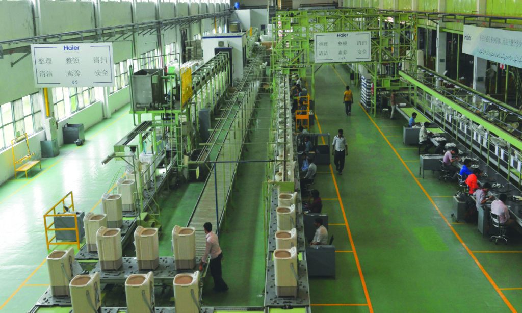 Inside a Haier Pakistan factory. Credit: Arif Ali, White Star