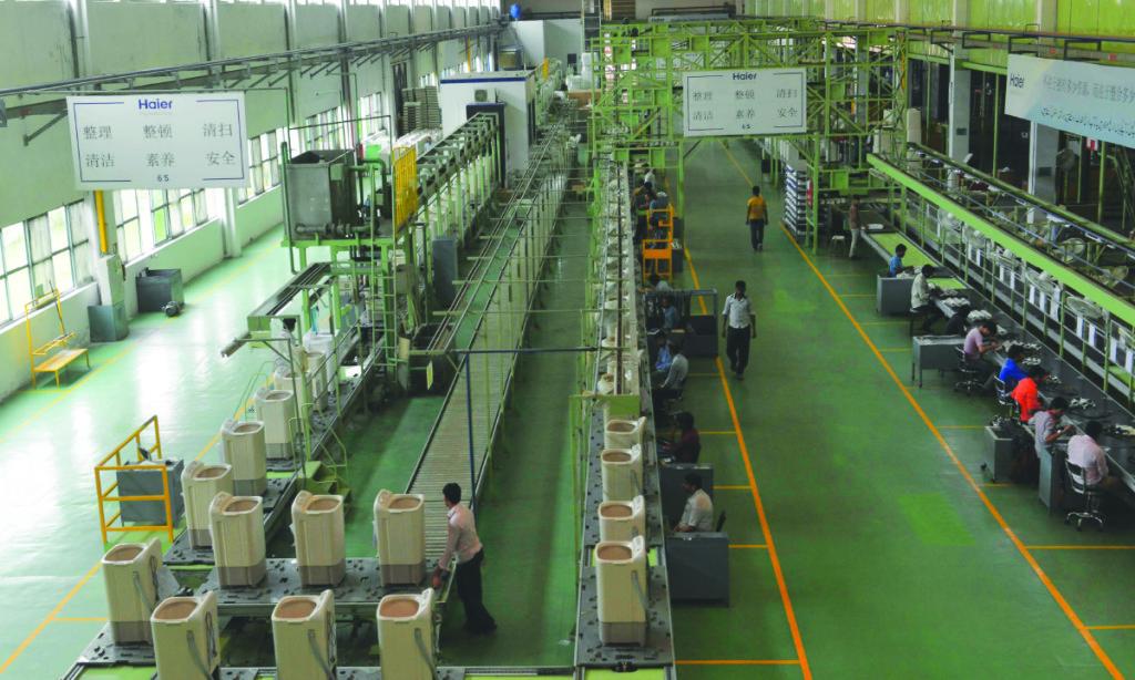 Inside a Haier Pakistan factory. Credit: Arif Ali, White Star