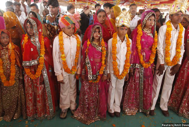India Has 12 Million Married Children Under Age Ten