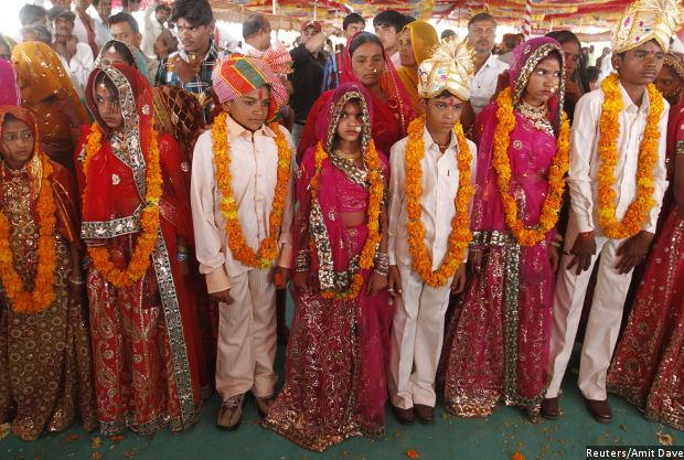 India Has 12 Million Married Children Under Age Ten