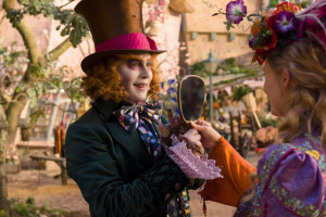 Alice (Mia Wasikowska) returns to the whimsical world of Underland and travels back in time to save the Mad Hatter (Johnny Depp) in Disney's Alice Through the Looking Glass. © 2016 Disney Enterprises, Inc.