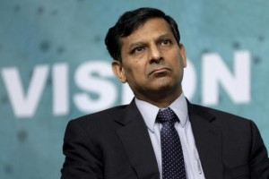 Governor of the Reserve Bank of India Raghuram Rajan speaks at a forum on financial development at the 2016 IMF World Bank Spring Meeting in Washington April 17, 2016. Credit: Reuters/Joshua Roberts/File Photo