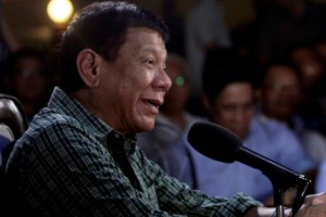 Philippines' President-elect Rodrigo Duterte answers questions during a news conference in Davao City, southern Philippines May 31, 2016. Credit: Reuters/Lean Daval