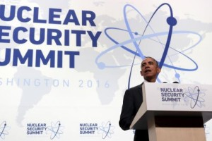 US President Barack Obama speaks during a press conference at the conclusion of Nuclear Security Summit in Washington April 1, 2016. Credit: Reuters/Kevin Lamarque