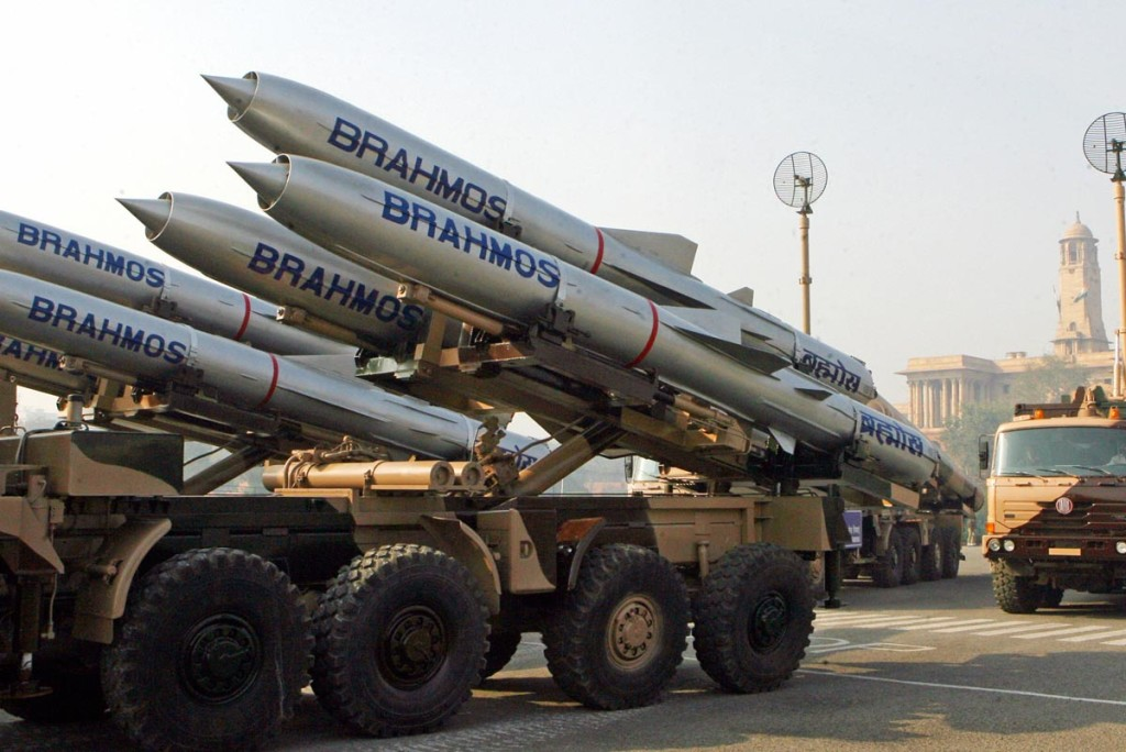 File photo of the BrahMos missile, a joint India-Russia venture. Credit: PTI